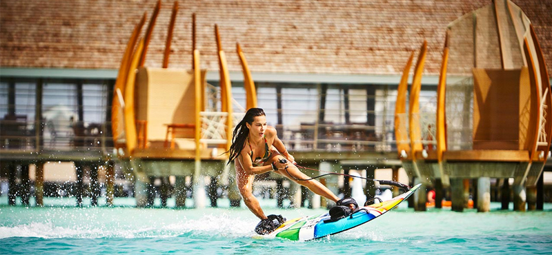 family holidys at lux maldives - water sports